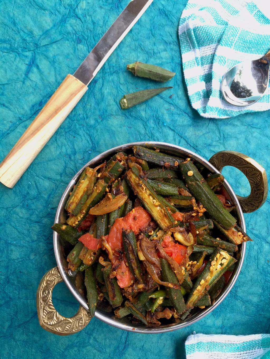 Bhindi Masala - A quick and easy recipe | Okra Curry with spices