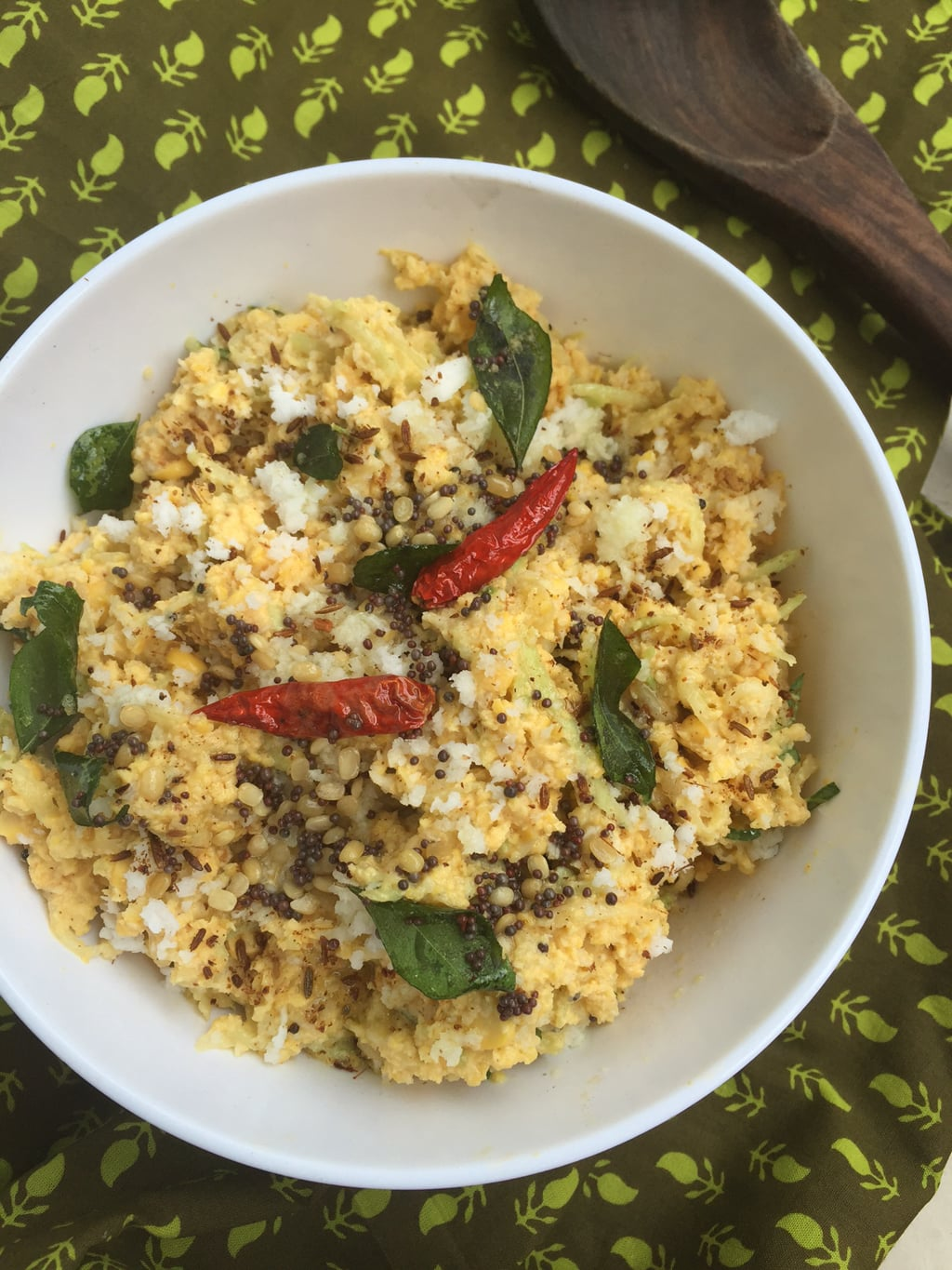 Raw mango and chana dal salad indian style recipe saffron trail print recipe forumfinder Image collections