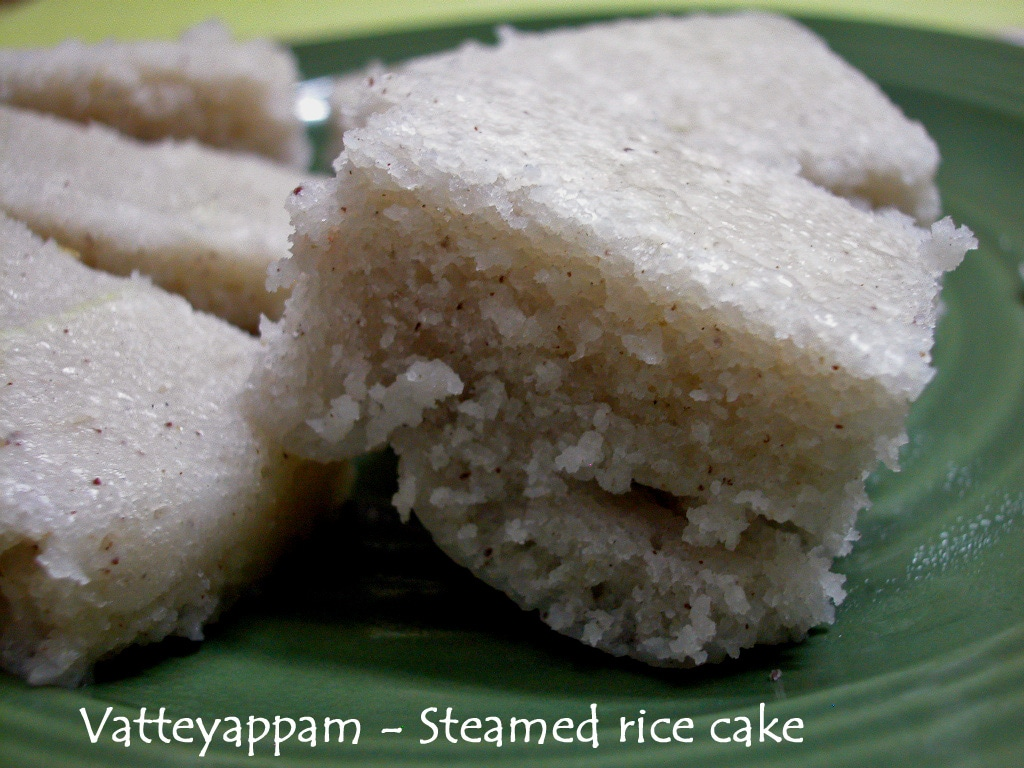 Vattayappam recipe for steamed rice cakes from kerala vegan and vattayappam forumfinder Images