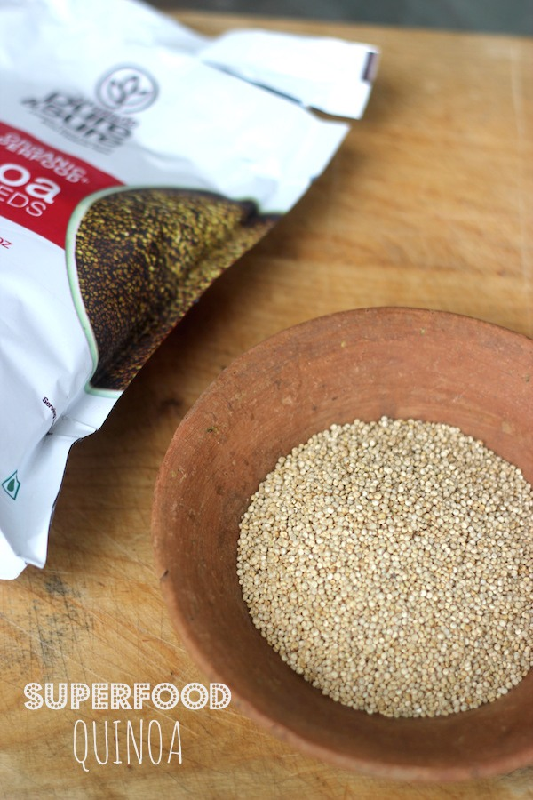 organic quinoa grown in India