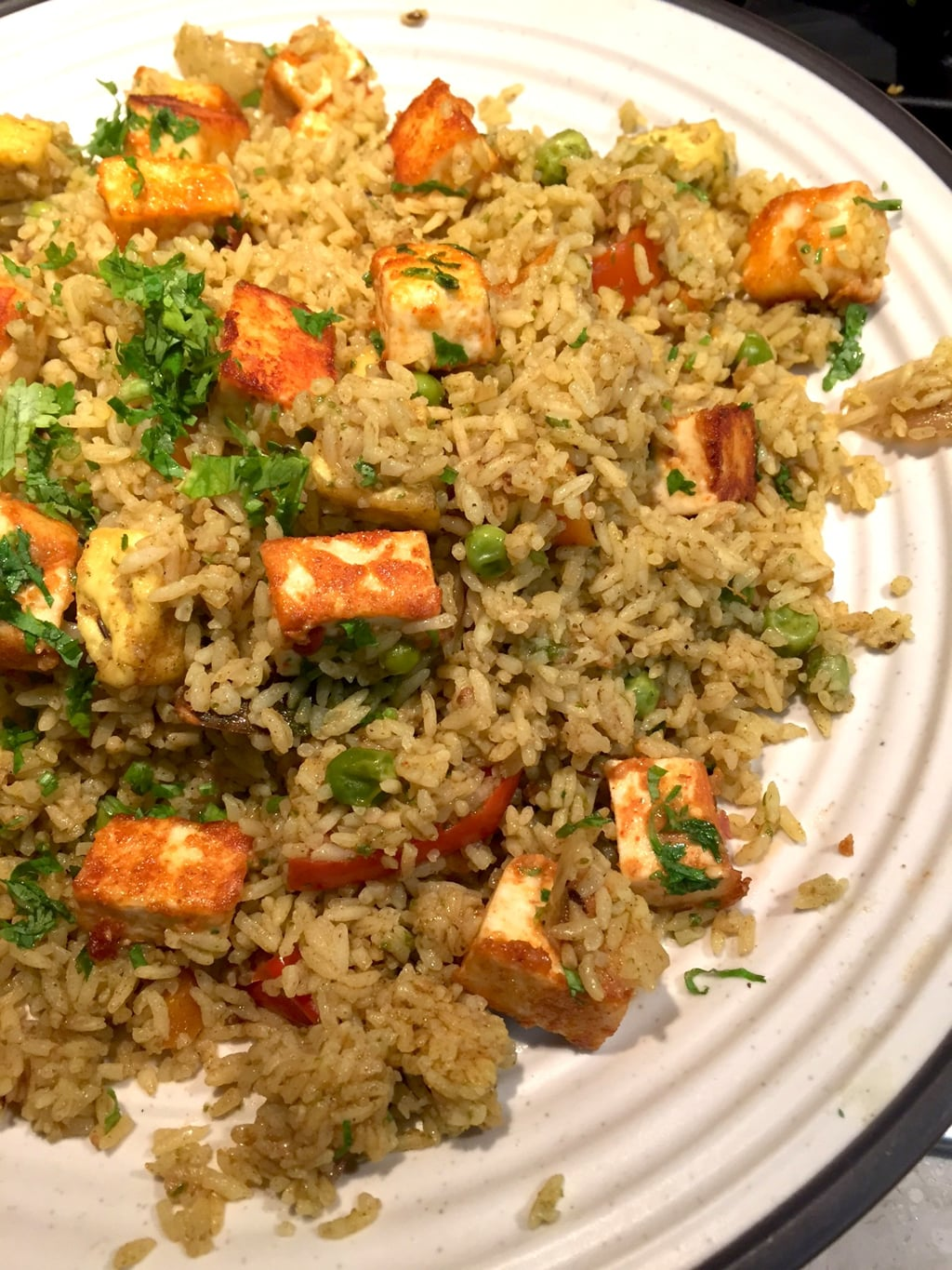 Paneer pulao using a special pulav masala recipe saffron trail pulao is usually my go to dish when i am running short of time or i cannot think of what to make for dinner rice is always comforting and a smattering of ccuart Choice Image