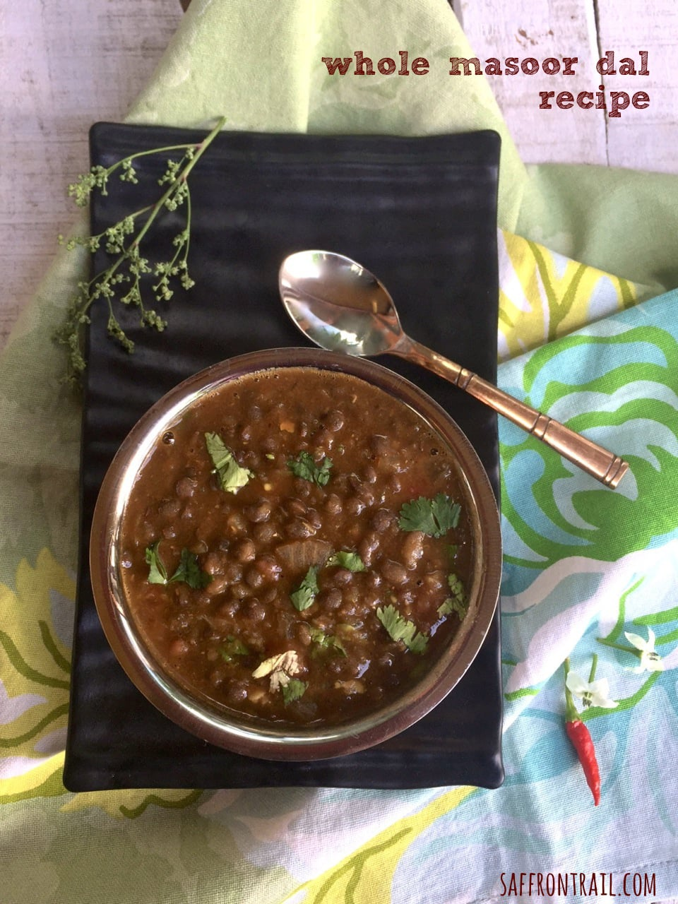 Whole masoor dal recipe saffron trail forumfinder Images
