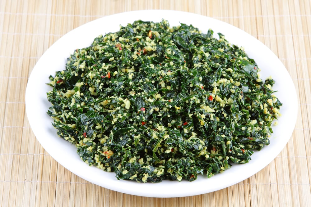 how to cook rapini leaves