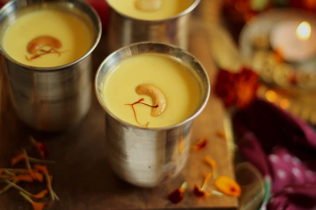 Badam kesar kheer with pumpkin recipe for almond saffron pudding im guilty of not sharing too many indian sweet recipes on my blog thats because my blog is a reflection of whatever i cook and eat and i rarely make forumfinder Choice Image